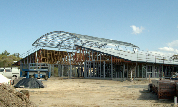 Powertruss frames were used in the construction of Assisi Catholic College